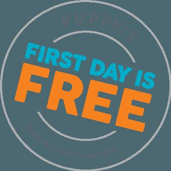 puppy free day