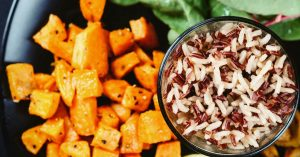 Rice and Sweet Potato