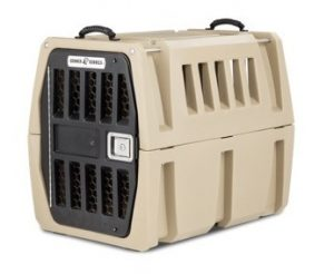 Gunner Kennel with strength tested strap is crashed tested and rates 5 stars with CPS.
