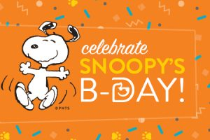 elebrate Snoopy's Birthday at Dogtopia Daycares in North America