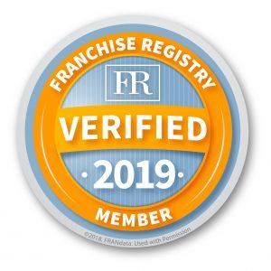 Verified Franchise Registry Member 2019