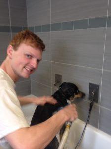 Volunteer Jamie Bender