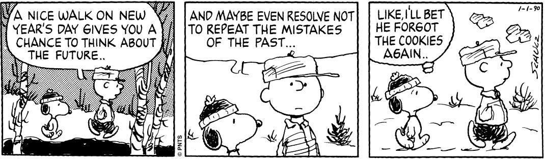 Snoopy Comic Week 1