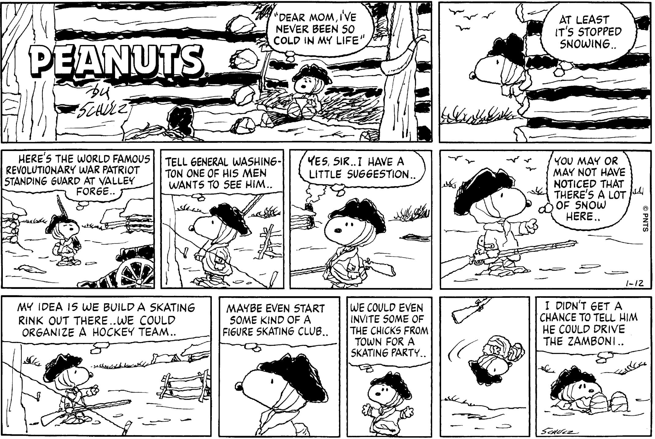 Snoopy Comic.